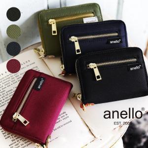 財布 ウォレット 二つ折り アネロ ファッション小物 レディース|andit