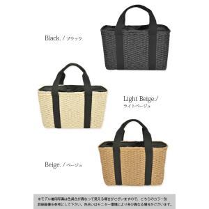 トートバッグ/カゴバッグ/かごバッグ/鞄/スクエアバッグ/レディース|andit|02