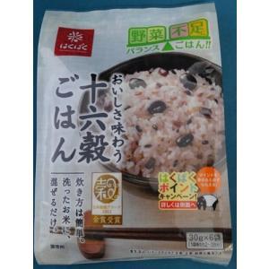雑穀米 十六穀ごはん (30gx6袋入り) 健康2個セット はくばく|andokometen