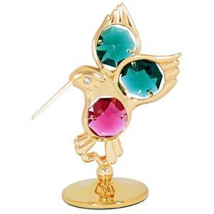 愛情・知性・幸福を運び込むハチドリ (ハミングバード)の置物です! 御自身の宝物、誕生日プレゼントと...