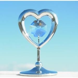 ハートの置物3 スワロフスキー クリスタル 誕生日 プレゼント 女性 お祝い ギフト 記念日 置き物|andromeda