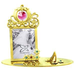 誕生日 プレゼント 高級 インテリア 雑貨 ギフト スワロフスキー クリスタル シンデレラの写真立て3|andromeda