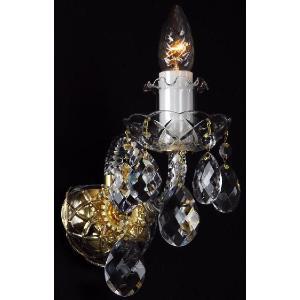 ブラケット シャンデリア W−01/1灯 LED電球対応 照明 アンティーク調|andromeda