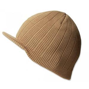 USモデル BBキャップ メンズ 帽子 / KNITTING CAMPUS CAP W/BILL -...