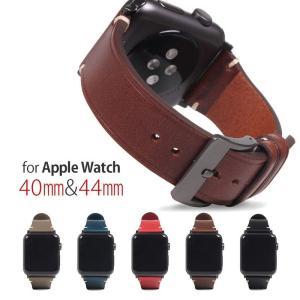 SLG Design Apple Watch バンド 44mm 40mm用 本革 アップルウォッチバンド 交換ベルト series 5/4/3/2/1 42mm 38mm お取り寄せ|andselect