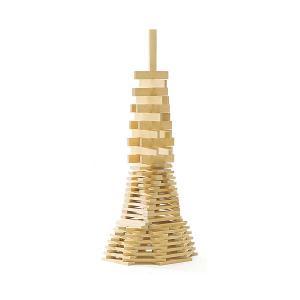 造形積み木 ビルディングロッズ300・白木<ミッキイ社 スウェーデン >