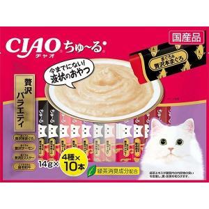 いなば CIAOちゅ〜る 贅沢バラエティ 40本入り(14gx40本) SC-185