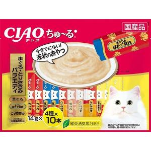 いなば CIAOちゅ〜る まぐろ・とりささみバラエティ 40本入り(14gx40本) SC-186