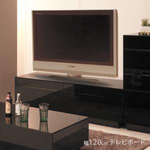 漆黒の総ガラスのブラックガラス張りで美しすぎるテレビボード 高級感あふれるお部屋にぴったり 大容量の...