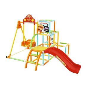 ●ブランコ・ジャングルジム・すべり台・鉄棒とお子様が大好きな公園遊びが室内で楽しめる商品です。 ●ジ...