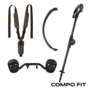 三輪車 コンポフィット用 ベビーサポートセット|anela
