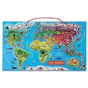 Janod パズル ワールドマップ|anela