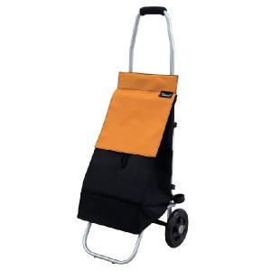 ショッピングカー:アルミ製ショッピングカー テイコブFC01 マンダリンオレンジ|anela