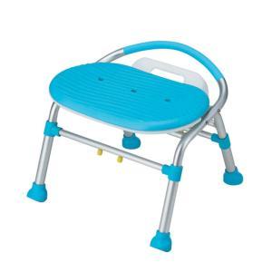 介護用品:入浴介護用品:折りたたみシャワーチェア(背付き肘掛なし) SC02 anela