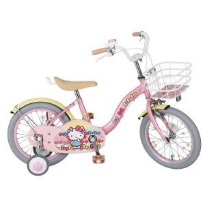 自転車 ハローキティ・ミルキーリボン 16インチ【日時指定不可】|anela