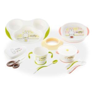 TLIシリーズ トライ ミッフィーベビー食器セット MO-5|anela