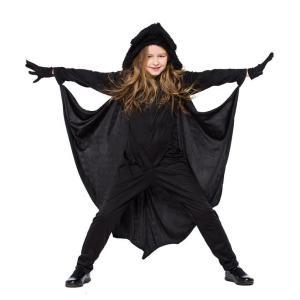 子どもコスプレ コウモリコスチューム 魔女/吸血鬼 ワンピース 衣装 仮装 可愛い キッズ ハロウィン 子供用 cosplay 女の子|anemo