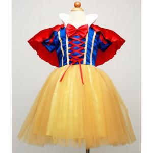 白雪姫仮装  万聖節 コスプレ 衣装 可愛い コスチューム ジュニア キッズ ハロウィン 子供用 cosplay 女の子|anemo