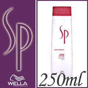 ウエラ ウエラSP シャインディファイン シャンプー 250ml|anemone-c
