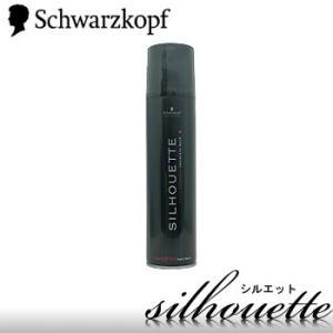 シュワルツコフ silhouette(シルエット) ハードスプレー 295ml 強いセット力で、つく...