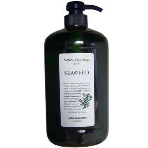 ルベル ナチュラルヘアソープウィズ SW(シーウィード) 1000ml|anemone-c