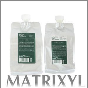 マトリキシル スキャルプ シャンプー&トリートメント セット レフィルセット|anemone-c