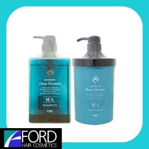 フォード ディープエレメント MA モイストアクア シャンプー&トリートメント セット(1000ml/950g)|anemone-c