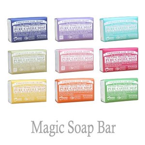 ドクターブロナー Magic Soaps bar マジックソープバー 140g【全9種】|anemone-c