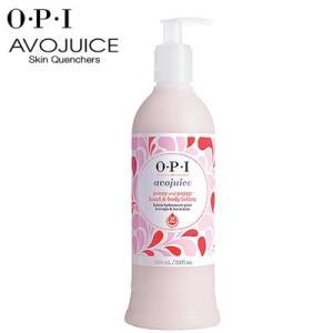 OPI アボジュース ハンド&ボディローション ピオニー&ポピー 600ml anemone-c