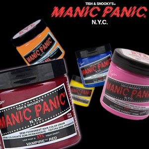 マニックパニック ヘアカラークリーム 118ml 全39色|anemone-c