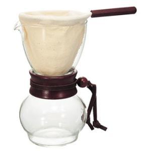 本格ネルドリップ珈琲が気軽に楽しめます。 キメの細やかなネルを通してゆっくりと濾過されるので、 豆本...