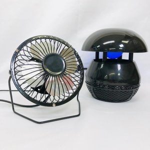 蚊取りポット・卓上ミニ扇風機 2点セット お客様様考案 二次会 景品 便利グッズ anetshop