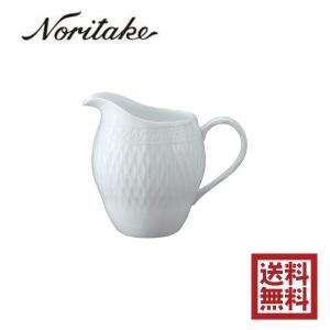 送料無料 Noritake ノリタケ シェール ブラン クリーマー T94828/1655 cher blanc 白い食器 エレガンス 紅茶 ange-yokohama