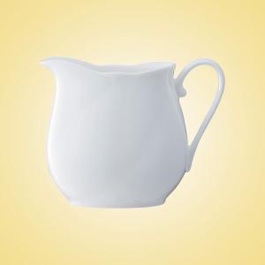 送料無料 Noritake(ノリタケ) アンサンブルホワイト クリーマー T59328A 9640 Ensemble White 白い食器 紅茶 ange-yokohama