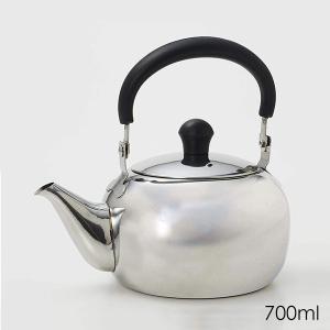 ほの茶 ステンレス製急須 700ml H-6402 パール金属 日本茶 紅茶 お茶 ティーポット|ange-yokohama