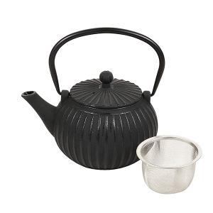和の味 鉄鋳物製急須 600ml 彩そぎ HB-4688 パール金属 日本茶 紅茶 お茶 ティーポット|ange-yokohama
