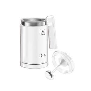 送料無料 メリタ ミルクフォーマー クレミオ2 ホワイト MJ201-W ホット アイス ボタンを押すだけの簡単操作|ange-yokohama