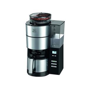 送料無料 Melitta メリタ アロマフレッシュサーモ 2-10杯用 AFT1021-1B ミル付き全自動コーヒーメーカー|ange-yokohama
