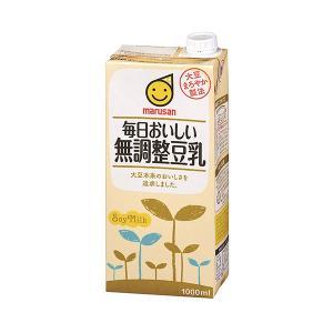 マルサン 毎日おいしい無調整豆乳 1L|ange-yokohama