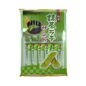 銘菓 抹茶ラテサンド 12枚入 小宮山製菓 抹茶クッキー|ange-yokohama