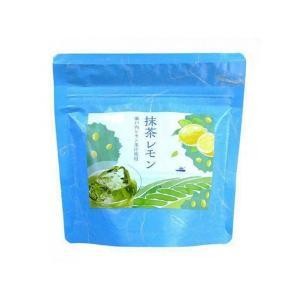 瀬戸内レモン果汁使用 抹茶レモン 80g うす茶糖 インスタント ange-yokohama