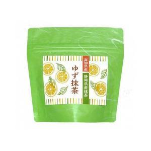 高知県産ゆず使用 ゆず抹茶 80g うす茶糖 インスタント ange-yokohama
