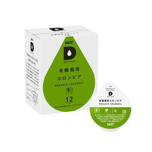 UCC DRIPPOD ドリップポッド 有機栽培コロンビア 12P カプセルコーヒー|ange-yokohama