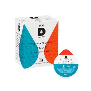 UCC DRIPPOD ドリップポッド ブルーマウンテンブレンド 12P カプセルコーヒー|ange-yokohama
