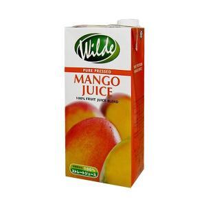 砂糖無添加・水を一滴も加えていない Wild ワイルド マンゴージュース 1000ml  賞味期限90日以上|ange-yokohama