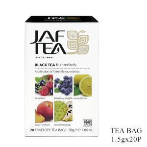 JAF TEA ジャフティー フルーツメロディ ティーバッグ 1.5g×20TB / 紅茶 フレーバー スリランカ|ange-yokohama