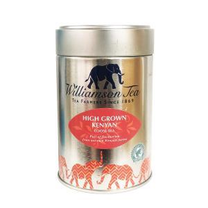 Williamson Tea ファイン ケニヤンハイグロウン 100g 茶葉 缶入り 紅茶 イギリス ブランド プレゼント|ange-yokohama