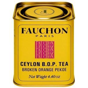 FAUCHON(フォション) セイロンティー 125g リーフ 缶入り 紅茶 BOP フランス パリ ハイグロウン|ange-yokohama