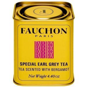 FAUCHON(フォション) アールグレイ 125gリーフ 缶入り 紅茶 フレーバード フランス パリ 人気|ange-yokohama