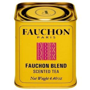 FAUCHON(フォション) フォションブレンド 125gリーフ 缶入り 紅茶 フレーバード フランス パリ 人気|ange-yokohama